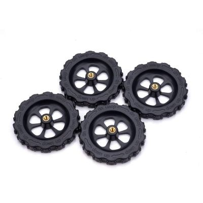 4PCS 3D Printer Bed Twist Leveling Nuts for Creality CR-10 10S Ender 3  (BLACK)