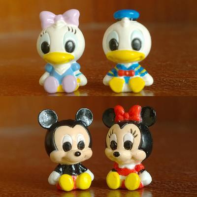 4pcs MINI Mickey Minnie Donald Daisy (end 4/7/2019 10:33 AM)
