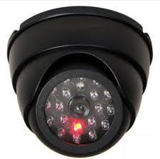 4PCS X Dummy Dome Security Camera CCTV 30pcs False LED Flashing Red
