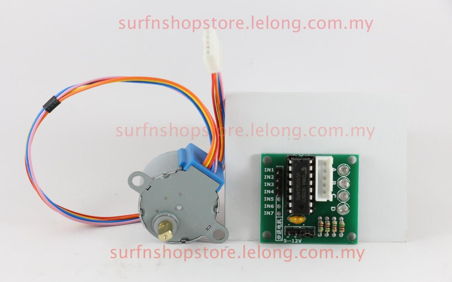 Phase V Byj Stepper Motor Uln Driver Board Arduino Surfnshopstore Surfnshopstore on L293d Motor Shield Arduino Code