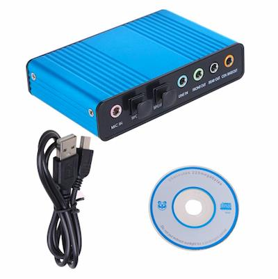 5.1 Channel USB Sound Box with Optical SPDIF