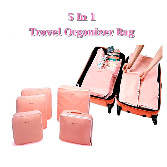 ?5 In 1 Travel Organizer Bag
