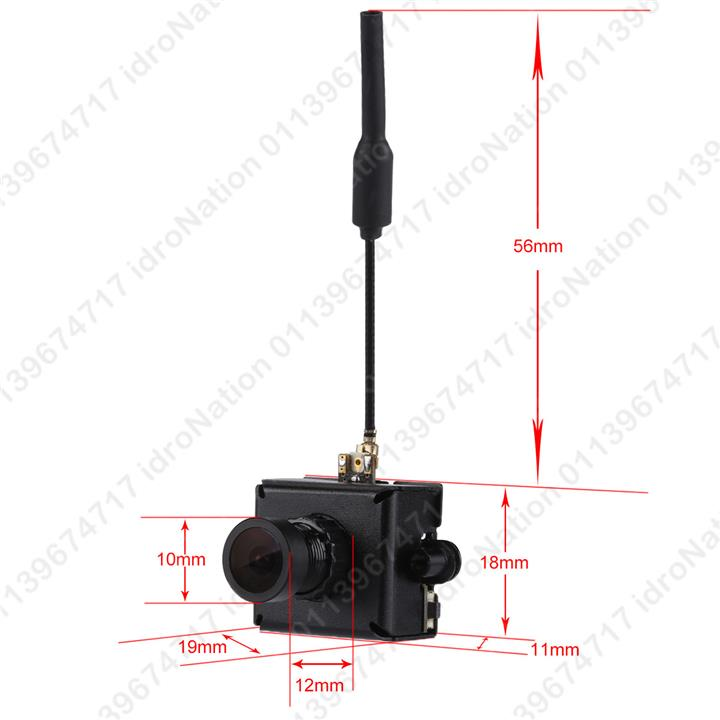 5.8G 48CH 25mW VTX 800TVL 1/3 Cmos Mini Casing FPV Camera FPV Racing