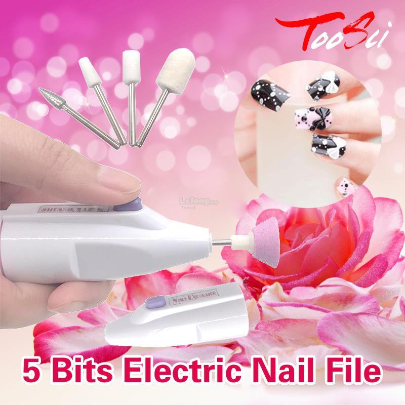 5 Bits Electric Nail File Manicure T (end 2/19/2019 3:15 PM)