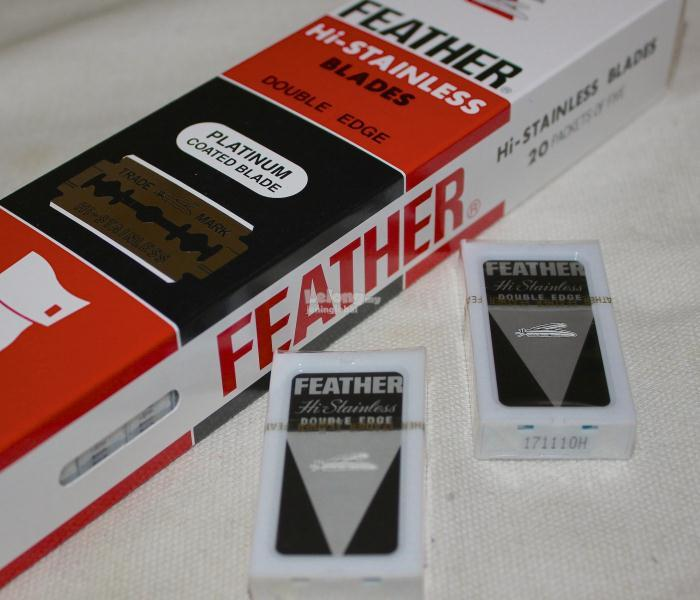 5 Blades Feather Hi-Stainless Blades