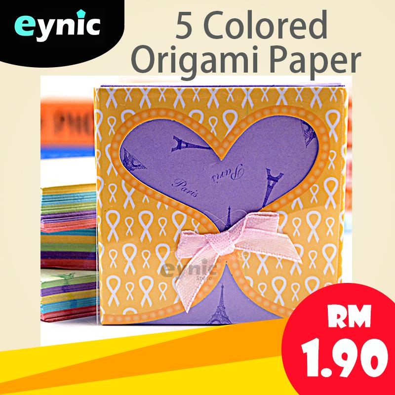 5 Colored Origami Paper Fun Crafts F End 6 30 2019 2 15 Pm