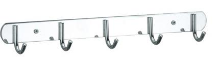 5 HOOK S/STEEL CLOTH HANGER (FREE GIFT see store)