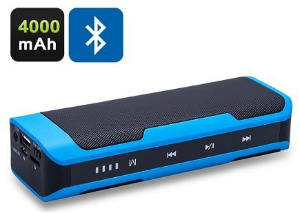 5 in1 Portable Bluetooth Speaker Power Bank (PB-12).