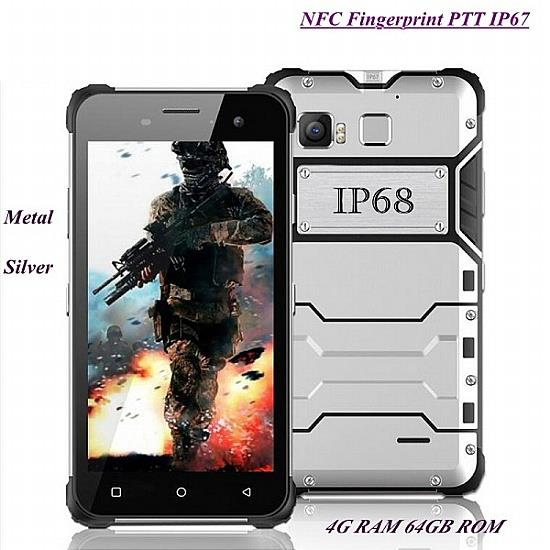 5 Inch 64GB Rugged Fingerprint Smartphone (WP-D6).