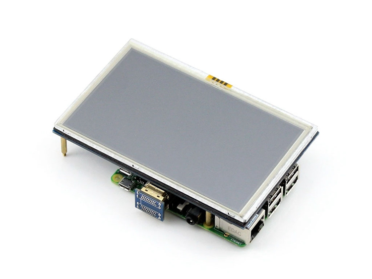5 inch Touch Screen HDMI LCD Display For Raspberry Pi 3 2 1