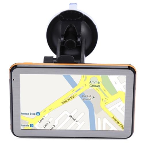 5 INCH VEHICLE GPS NAVIGATION TFT LCD TOUCH SCREEN FM RADIO VOICE GUIDANCE MUL