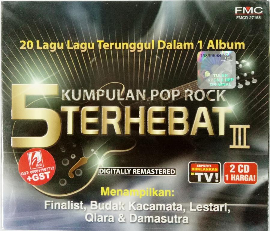 5 Kumpulan Pop Rock Terhebat III CD (end 4 10 2021 12 00 AM) e5a8876fbf