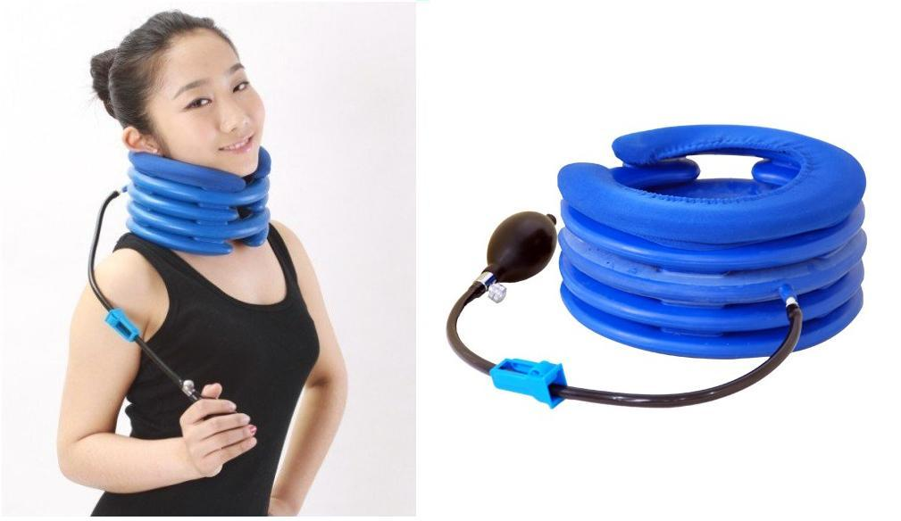 neck pain relief  5-Layer Inflatable Air Neck Traction (end 7/1/2019 12:00 AM)