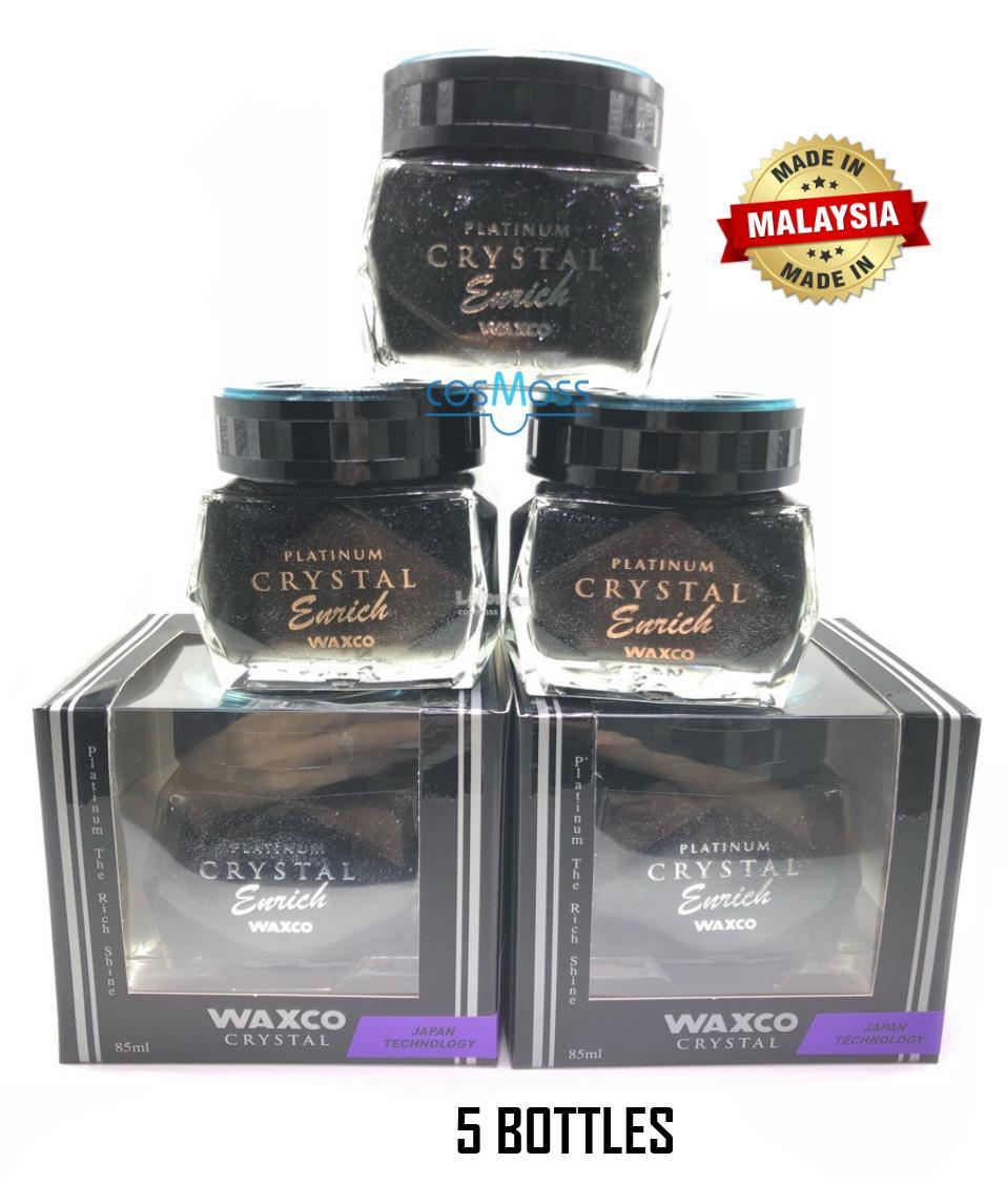 5 PCS WAXCO Car Perfume Platinum Crystal Enrich Shine Black Musk 85ML