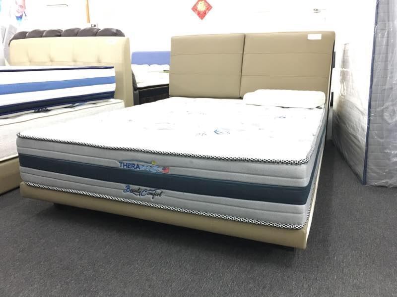 5u0027 queen aerofoam therapedic beauty comfort spring mattress tilam