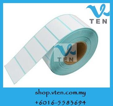 5 Rolls Thermal Barcode Label Sticker Paper 35x25mm 35*25 2000PCS/Roll