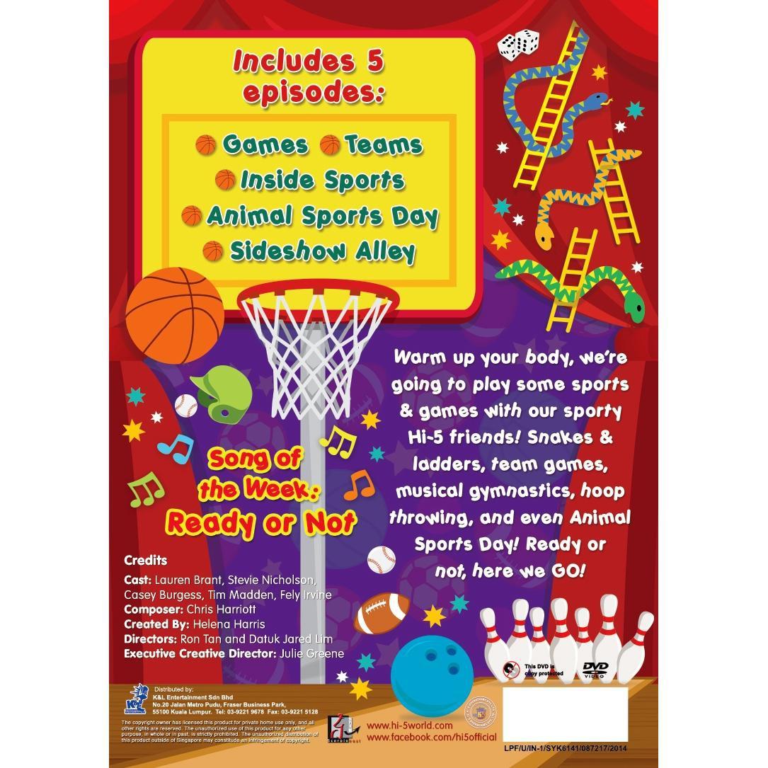 Hi-5 Season 13 Sports & Games (Australia Series) DVD
