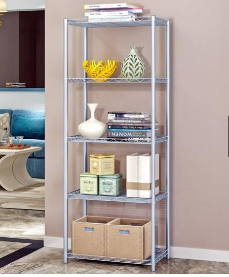 5 Tiers Compartment Rack