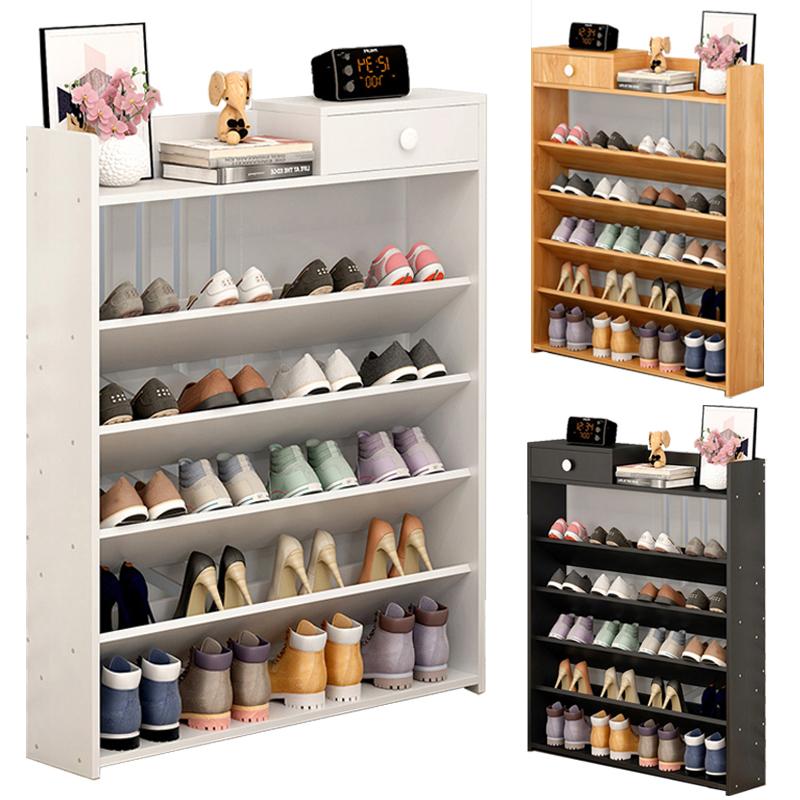 5 Tiers Shoe Rack Wooden Shoe Storag End 882021 1200 Am