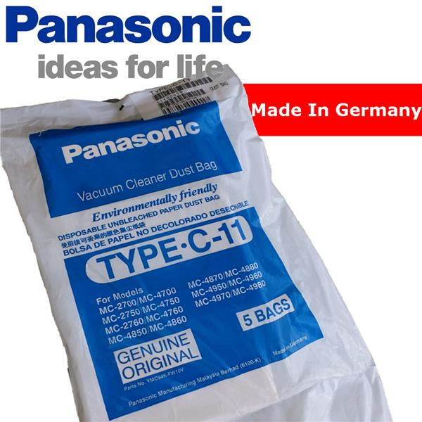 5 X Panasonic Type C 11 Vacuum Clean End 1 24 2020 7 15 Pm