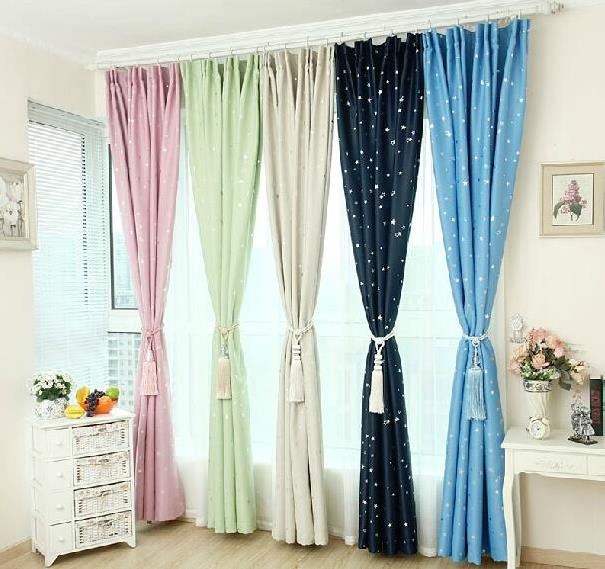 50 Blackout Country Style Window Curtains Curtain High 2 7m Wide 2m