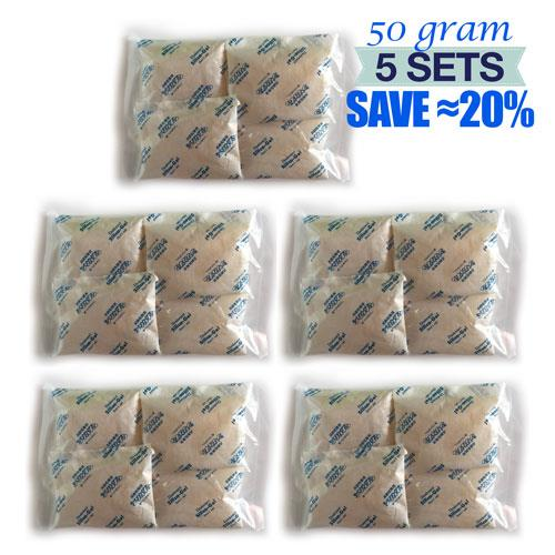 50 Gram x 20 Pack Reusable Anti Fungus A-Grade Silica Gel Camera Lens