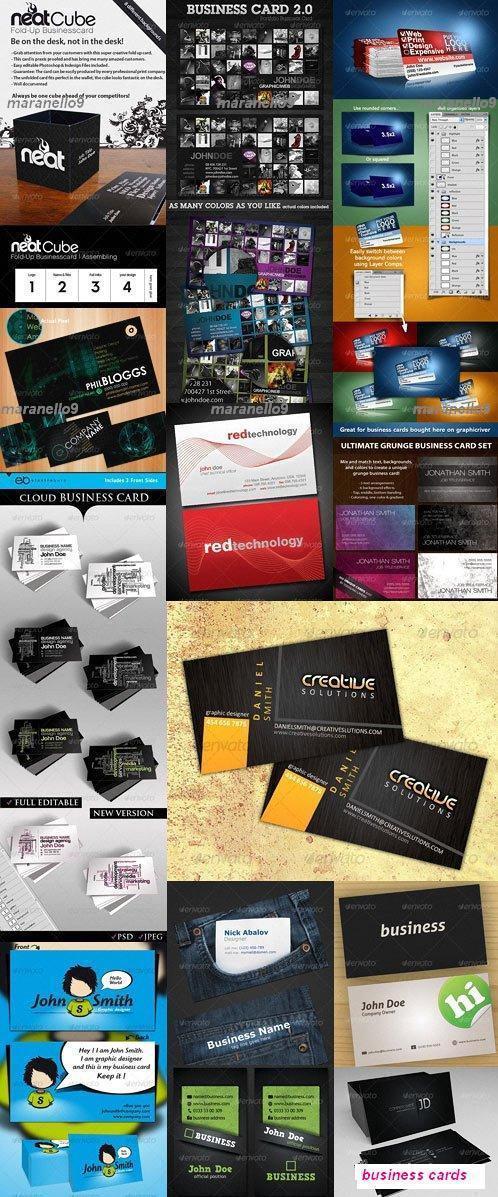 50 Master Business Card Photoshop PS (end 1/11/2019 4:39 PM)