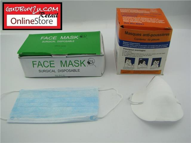 Dust Surgical Pcs Face 3 50 Out sold Mask Ply - Limited