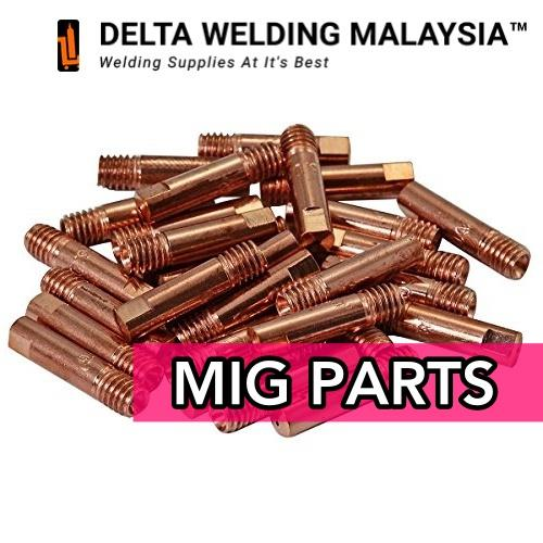 50 PCS -WIM 210S MIG WELDING CONTACT TIP (0.8MM) MALAYSIA