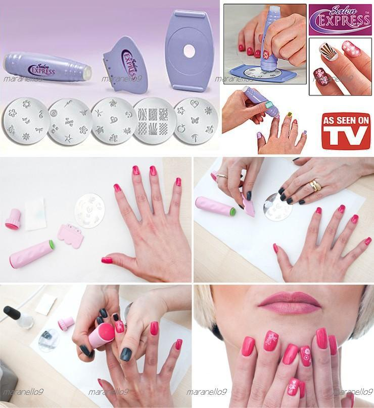 Best Ing Salon Express Nail Art Stamping Kit Free Shipping