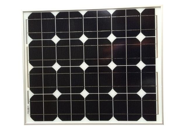 50 Watt / 50W Monocrystalline A-Grade Solar Panel (10-Year Warranty)