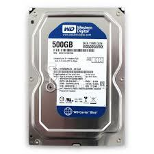 "500GB SATA Desktop HDD 3.5"" (Preloaded with Games)"