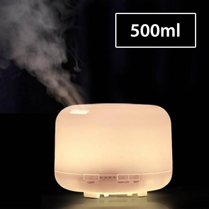 500ml Air Purifier Air Humidifier LED Light Adjustable Light Air Aroma