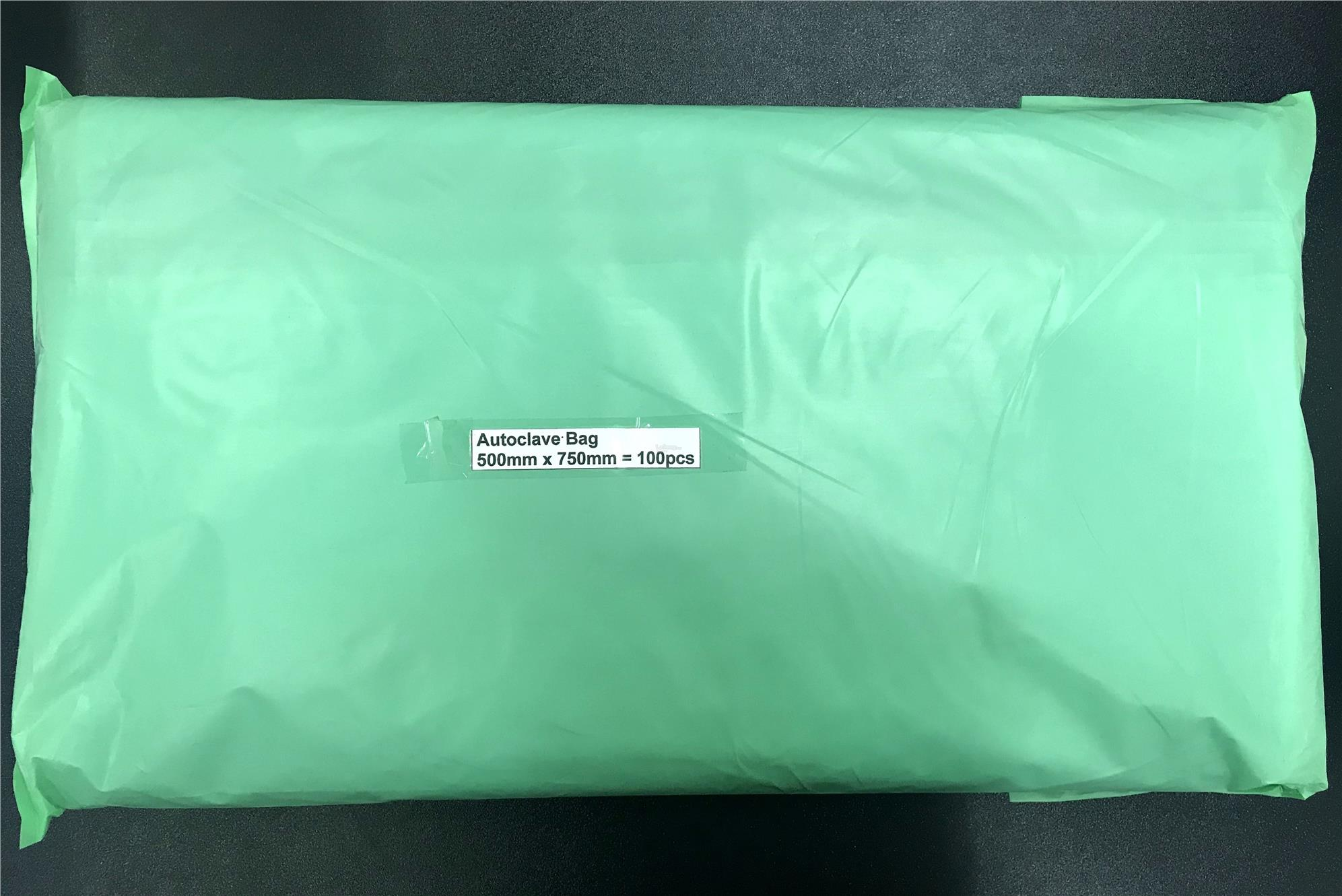 500MM x 750MM Blue Autoclave Bag