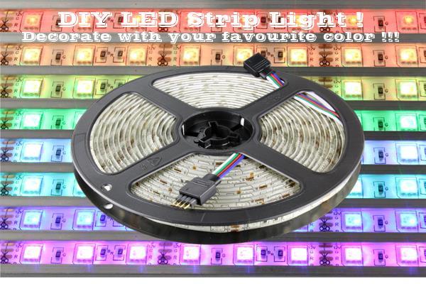 5050 smd rgb 12v led flexible strip l end 232018 230 pm 5050 smd rgb 12v led flexible strip light waterproof multi color aloadofball Images