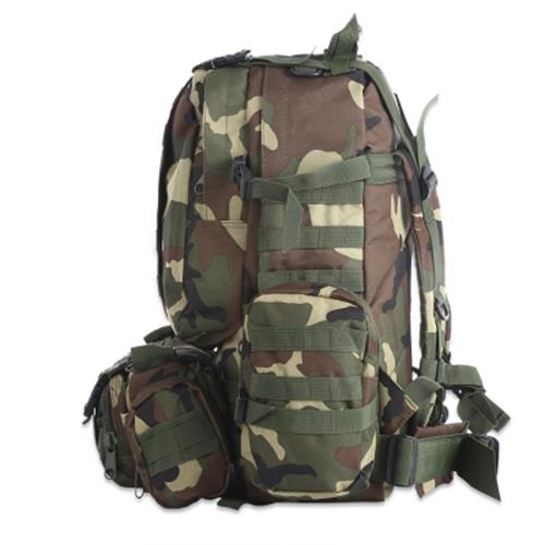 50L MULTIFUNCTION MOLLE CAMOUFLAGE BACKPACK FOR OUTDOOR SPORT CLIMBING