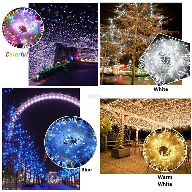50M 500 LED Fairy Light String Christmas Home Festival Party Decor