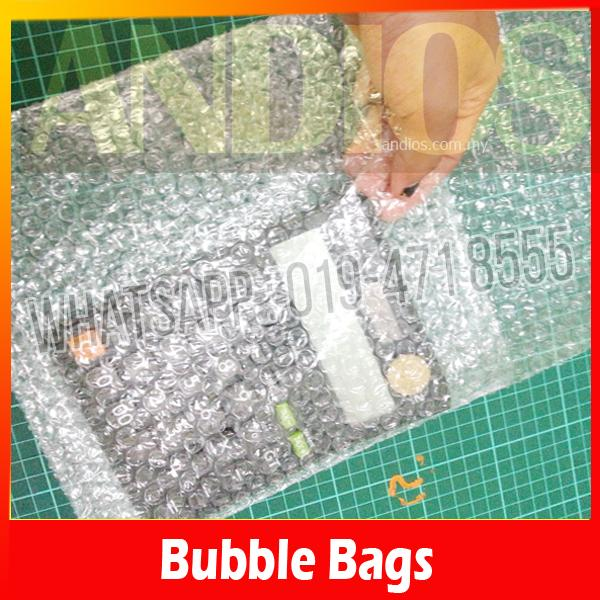 50pc - Bubble Wrap Pouch bag (25x23+14cm) Packaging Packing Fragile