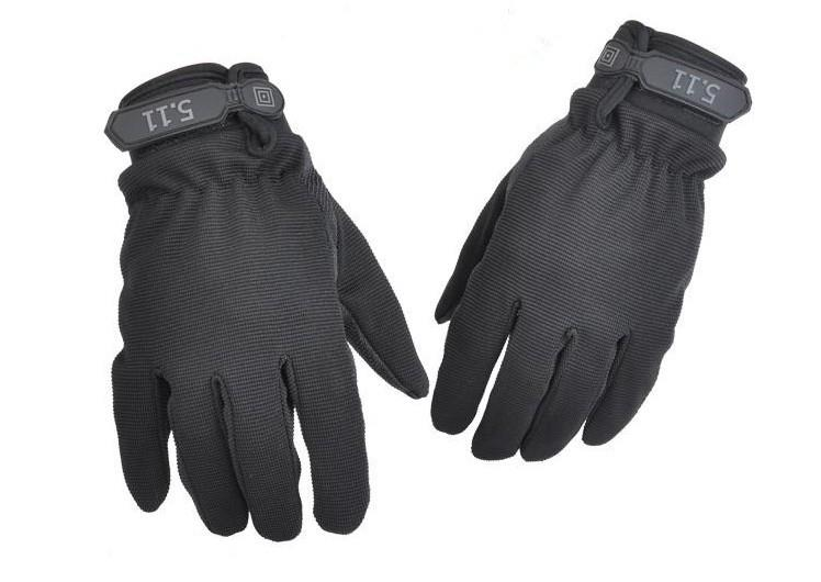 511 TACTICAL GLOVE FULL FINGER - black
