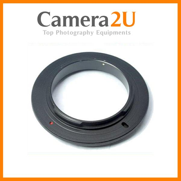 New 52 ,58,67 mm Macro Reverse Lens Adapter Ring For CANON DSLR Camera