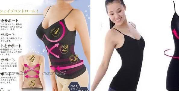 52% OFF NEW:Japan Shape Up Body / Tummy Shaper Camisole+ Free Shipping