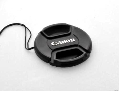 52mm Canon Front Lens Cap With Strap