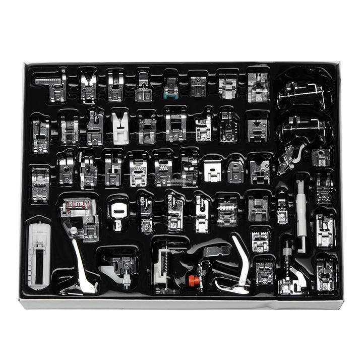 Top Rated Sewing Machines 2020.52pcs Sewing Machine Snap Presser Foot Set Multi Functional Kit For Si