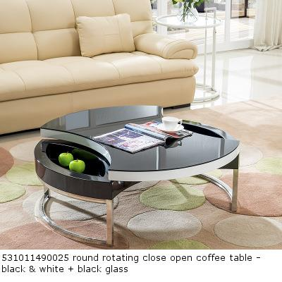 Brilliant 531011490025 Round Rotating Close Open Coffee Table Cjindustries Chair Design For Home Cjindustriesco