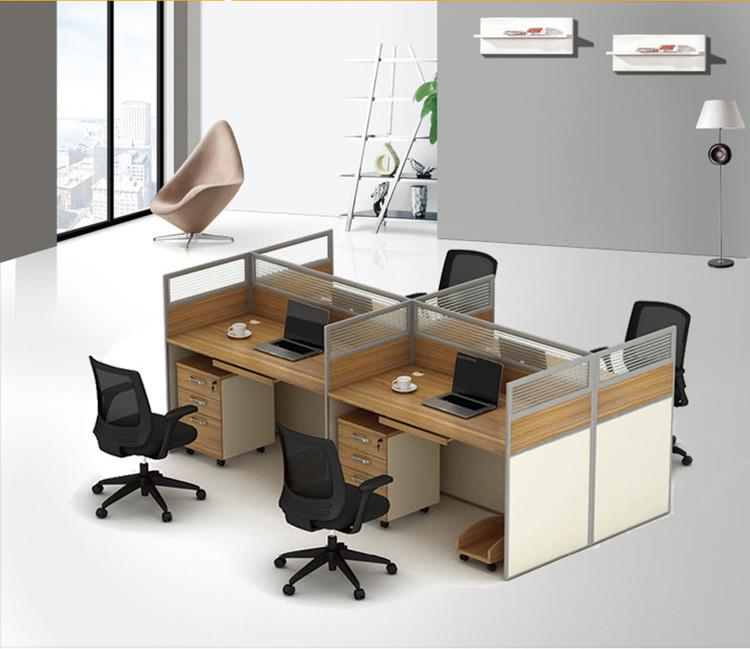 533739253843 Office desk modular system up to 6 seater
