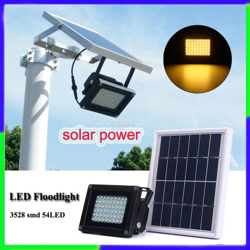 54 led flood light solar power garde end 542019 1115 am 54 led flood light solar power garden lamp induction wall lamp aloadofball Image collections