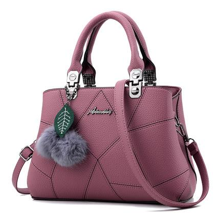 543333400681 soft PU leather shoulder handbag