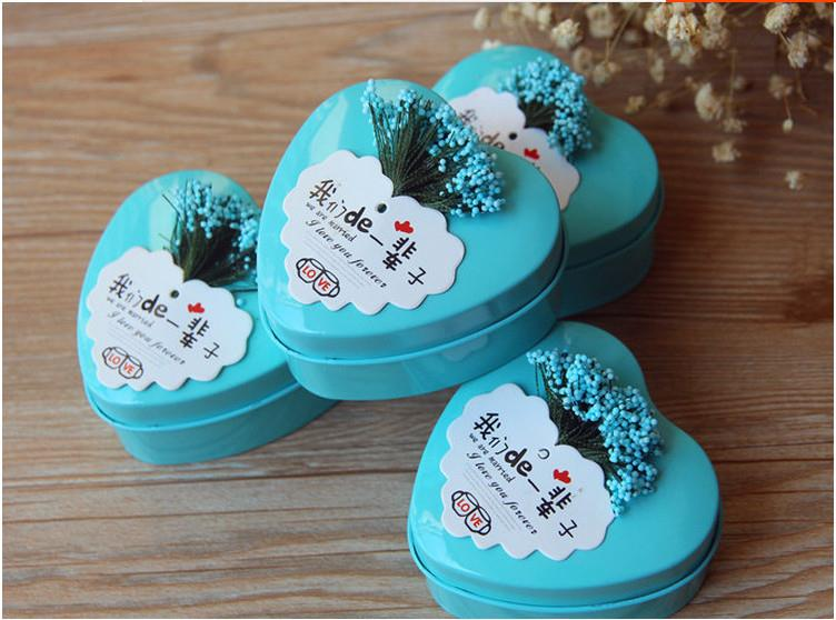 543512636732  wedding candy boxes tin  MOQ 100