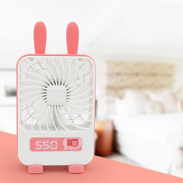 5502 Rechargeable Rabbit Fan