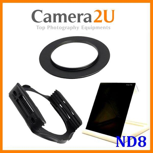 55mm SET Super Neutral Density ND8 Filter for Cokin P series